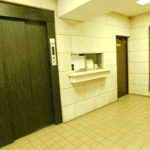 コスモ上池袋のエレベーターホール、エレベーター内