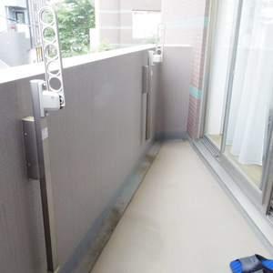 フィールM西新宿(2階,3998万円)のバルコニー