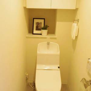 フィールM西新宿(2階,3998万円)のトイレ