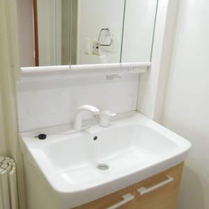 フィールM西新宿(12階,4490万円)の化粧室・脱衣所・洗面室