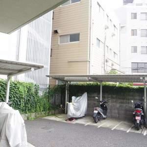 フィールM西新宿の駐輪場