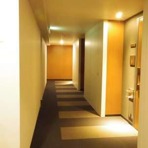 シティタワー新宿新都心(27階,)のフロア廊下(エレベーター降りてからお部屋まで)
