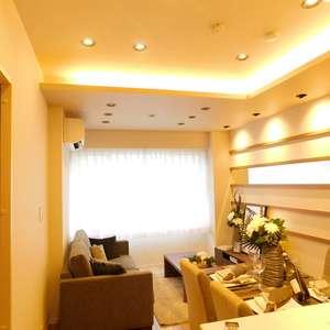 グランドメゾン目黒南(4階,)の居間(リビング・ダイニング・キッチン)
