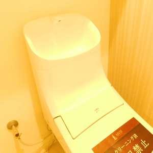 マンション雅叙苑5号館(7階,)のトイレ