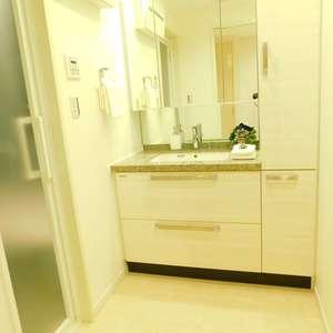 クレッセント目黒花房山(2階,7480万円)の化粧室・脱衣所・洗面室