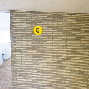 マンション雅叙苑5号館の共用ロビー
