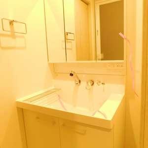 落合明穂ハイツ(8階,2580万円)の化粧室・脱衣所・洗面室