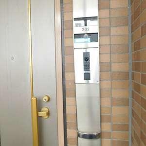 グランシティ早稲田(2階,5180万円)のフロア廊下(エレベーター降りてからお部屋まで)