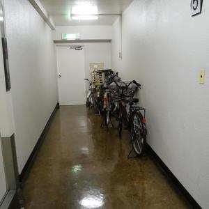 中銀錦糸町マンシオンの駐輪場