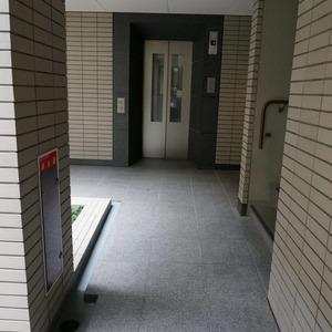 松濤ガーデンのエレベーターホール、エレベーター内