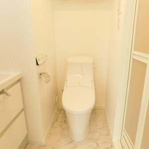 トーア早稲田マンション(7階,)のトイレ