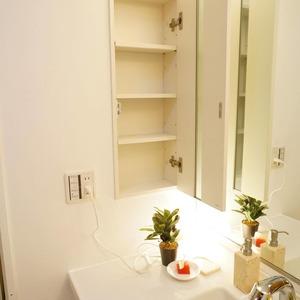 松濤ガーデン(2階,)の化粧室・脱衣所・洗面室