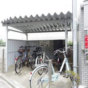 藤和シティコープ中野の駐輪場