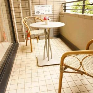 松濤ガーデン(2階,)のバルコニー