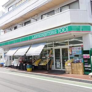 ベルハイム中野の周辺の食品スーパー、コンビニなどのお買い物