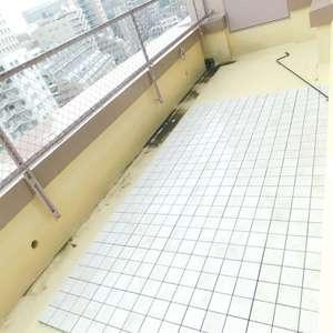音羽ハウス(9階,)のバルコニー