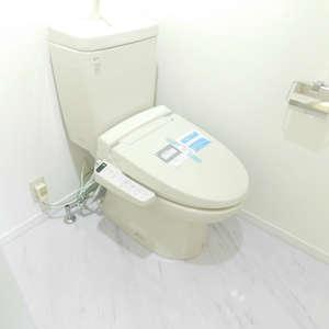 セントパレス池袋(6階,)のトイレ
