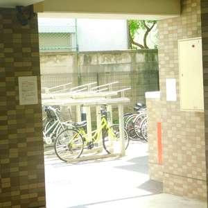 セントパレス池袋の駐輪場