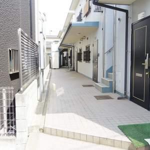 ベルハイム中野のマンションの入口・エントランス