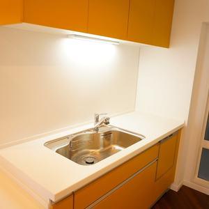 青山セブンハイツ(11階,)のキッチン