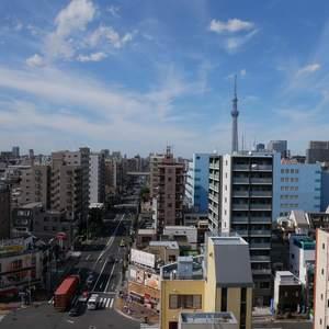 藤和菊川ホームズ(12階,4998万円)のお部屋からの眺望