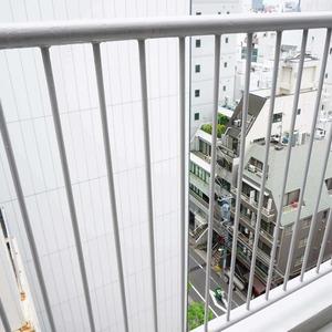 青山セブンハイツ(11階,)のバルコニー