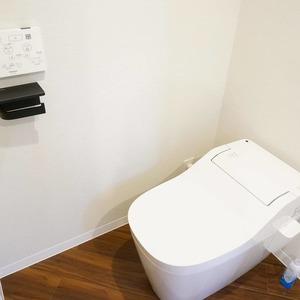 青山セブンハイツ(11階,)のトイレ
