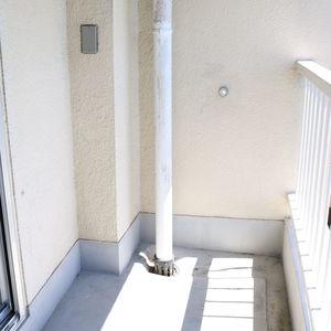 牛込中央マンション(5階,)のバルコニー