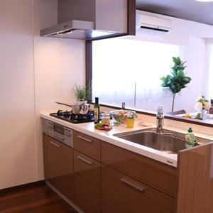 牛込中央マンション(5階,)のキッチン