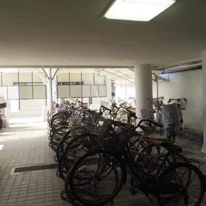 宮園キャピタルマンションの駐輪場
