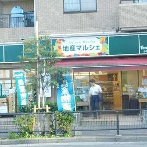 日興パレス高田馬場の周辺の食品スーパー、コンビニなどのお買い物
