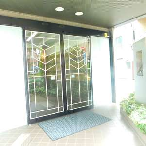 藤和シティホームズ神楽坂のマンションの入口・エントランス