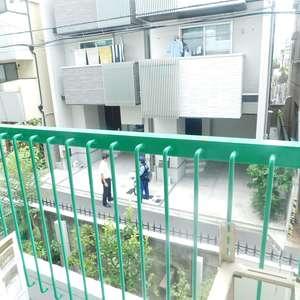 グリーンキャピタル神楽坂(2階,3780万円)のバルコニー