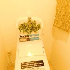 グランシャリオ神楽坂(7階,)のトイレ