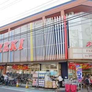 シャンボール菊川の周辺の食品スーパー、コンビニなどのお買い物