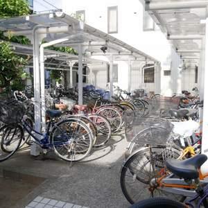 菊川パークホームズの駐輪場