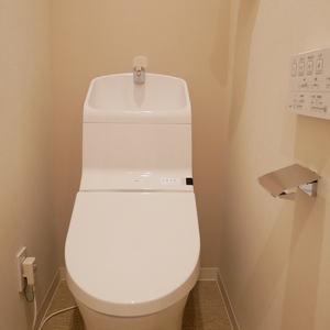 菊川パークホームズ(6階,)のトイレ