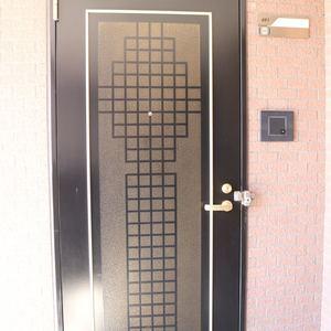 ムサシノコート早稲田(4階,)のフロア廊下(エレベーター降りてからお部屋まで)