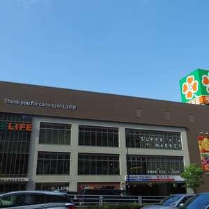 ライオンズマンション中野坂上の周辺の食品スーパー、コンビニなどのお買い物