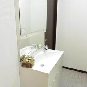 ハイネス野方(2階,2380万円)の化粧室・脱衣所・洗面室