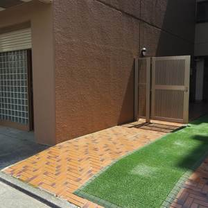 野方サニーハイツのマンションの入口・エントランス