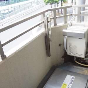 野方サニーハイツ(2階,2590万円)のバルコニー