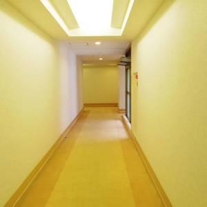 ヴェルビュ沼袋(1階,5780万円)のフロア廊下(エレベーター降りてからお部屋まで)