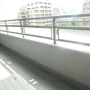 西早稲田シティタワー(9階,)のバルコニー