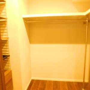 西早稲田シティタワー(9階,)のウォークインクローゼット
