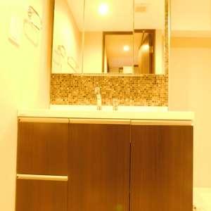 西早稲田シティタワー(9階,)の化粧室・脱衣所・洗面室