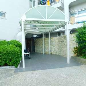 戸山マンションのマンションの入口・エントランス