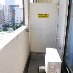 築地ハイツ(8階,)のバルコニー