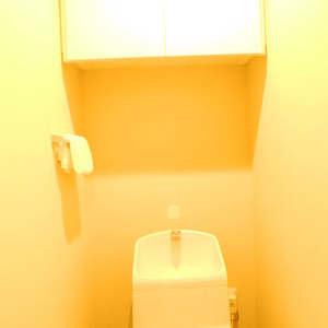 若松町ハビテーション(3階,)のトイレ