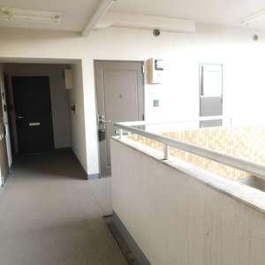 コスモ上池袋(2階,)のフロア廊下(エレベーター降りてからお部屋まで)